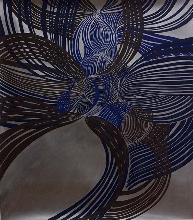 S/Título, 2008, guache e grafite s/papel, 129x115 cm