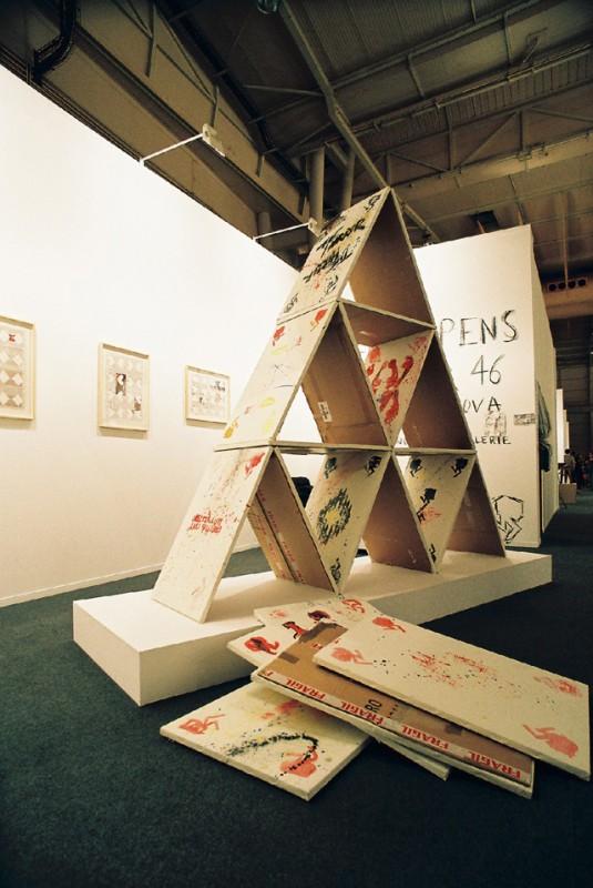 Steve Schepens, 2008, Horror 46 - Cerca e Trova, 150x300x300 cm