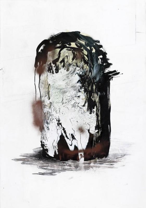 S/Título, 2005, técnica mista s/papel, 100x70 cm