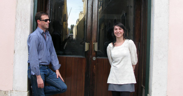 Anne Bourse (FR) e Steve Schepens (BE)